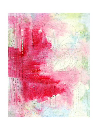 Watermelon Seeds Abstract Posters by Sarah Ogren