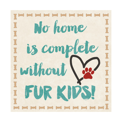 Fur Kids Prints by Jo Moulton