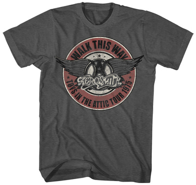 Aerosmith- Walk This Way Tシャツ