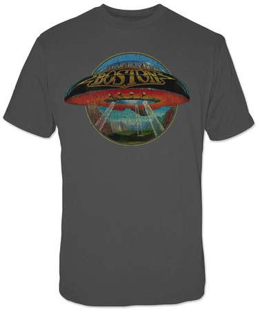 Boston- Distressed Spaceship T-shirts