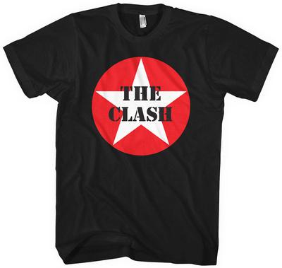 The Clash- Star Logo T-Shirts