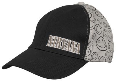 Nirvana- Smile Baseball Cap Čepice