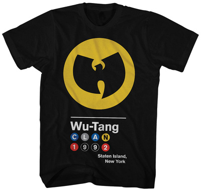 Wu Tang Clan- Circles 1992 Logo T-shirts
