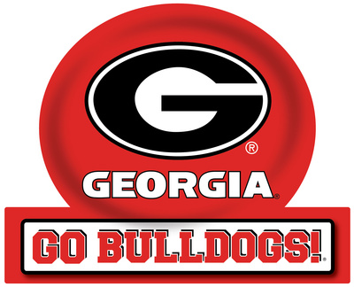 Georgia Bulldogs Jumbo Tailgate Peel & Stick Wall Decal