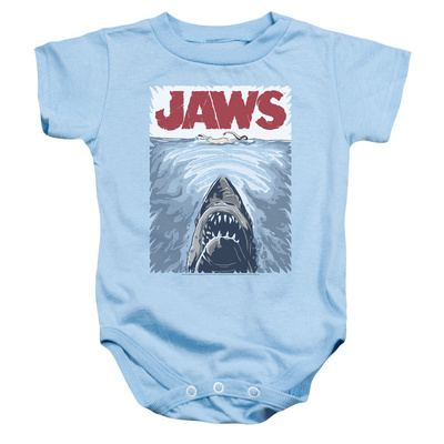 Infant: Jaws- Graphic Poster Onesie Infant Onesie