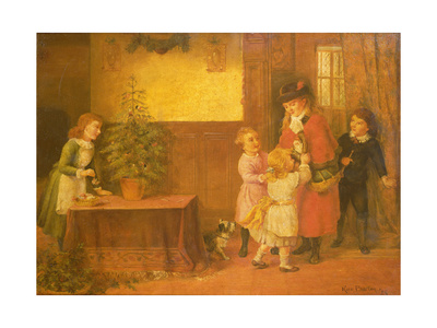 Christmas Eve, 1925 Giclee Print by Rose Maynard Barton