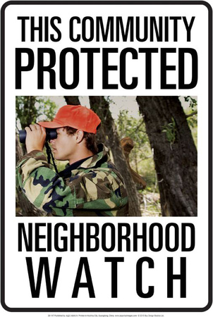 Protected By Bigfoot Tin Sign