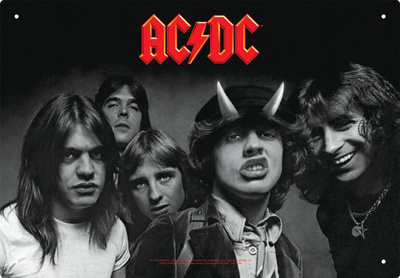 AC/DC - Highway To Hell Tin Sign