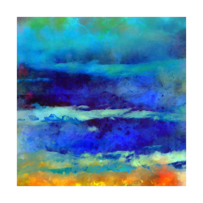 What a Color Art Series Abstract VIII Print by Ricki Mountain