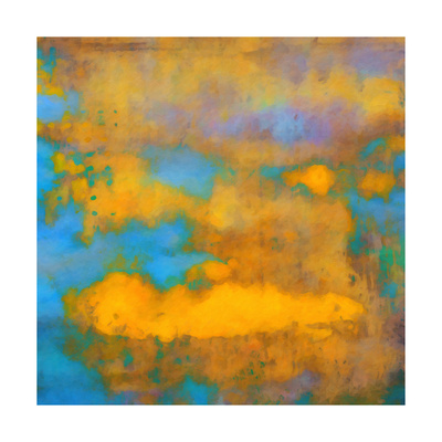 What a Color Art Series Abstract VII Prints by Ricki Mountain