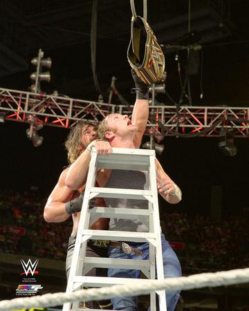 Seth Rollins & Dean Ambrose 2015 Action Photo