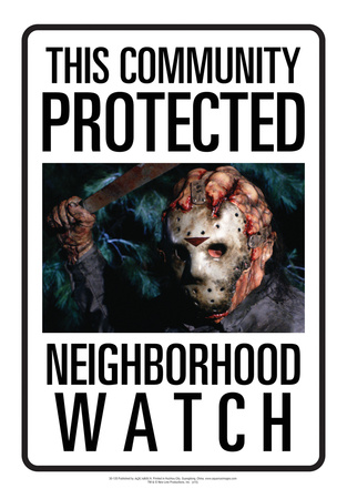 Protected By Jason Tin Sign