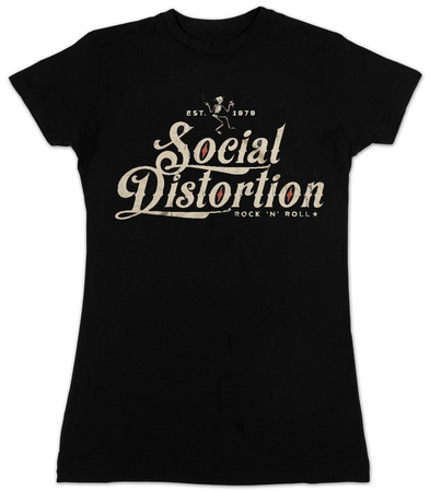 Juniors: Social Distortion- Rock N Roll T-shirts