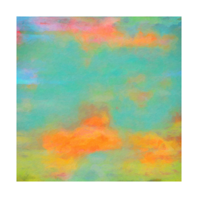 What a Color Art Series Abstract XII Prints by Ricki Mountain