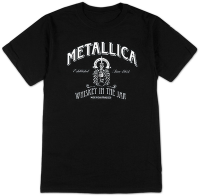 Metallica- Whiskey Label T-Shirts