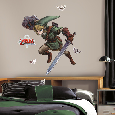 Zelda: Twilight Princess Peel And Stick Giant Wall Decals Muursticker