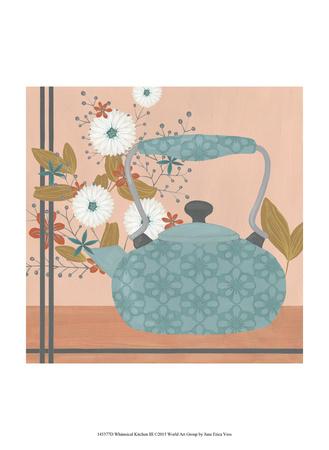Whimsical Kitchen III Poster von June Erica Vess