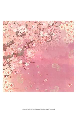 Tokyo Cherry II Poster by Evelia Designs