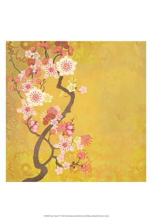 Tokyo Cherry IV Print by Evelia Designs