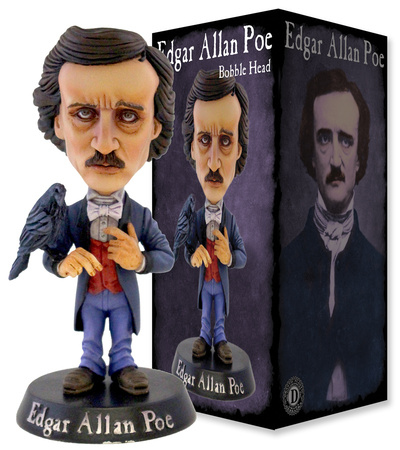Edgar Allan Poe Bobble Head Toy