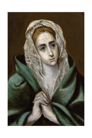Mater Dolorosa, C.1587-90 Giclee Print by  El Greco