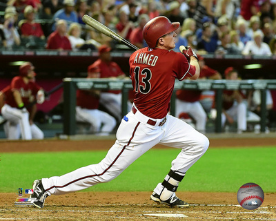 Nick Ahmed 2015 Action Photo