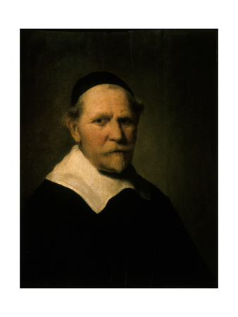 Portrait of an Old Man Lámina giclée por Ferdinand Bol