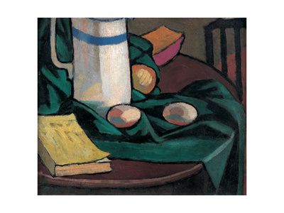 Still Life: Jug and Eggs, 1911 Giclee Print by Roger Eliot Fry