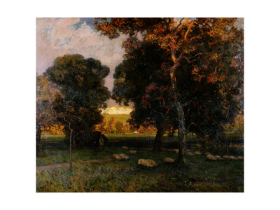 A Gleam before the Storm, C.1900 Giclee Print by Alfred East