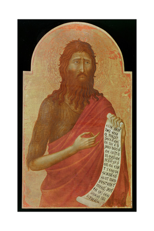 John the Baptist Giclee Print by Ugolino Di Nerio