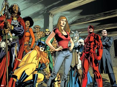 New Avengers No.59 Group: Doctor Voodoo Poster by Stuart Immonen
