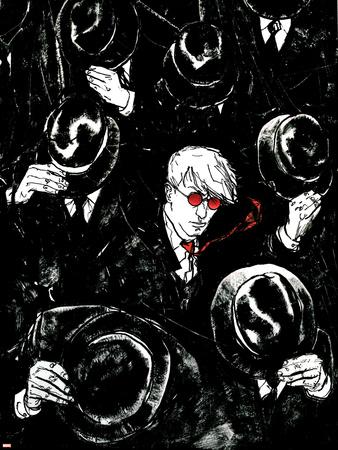Daredevil No.68 Cover: Murdock and Matt Print by Alex Maleev