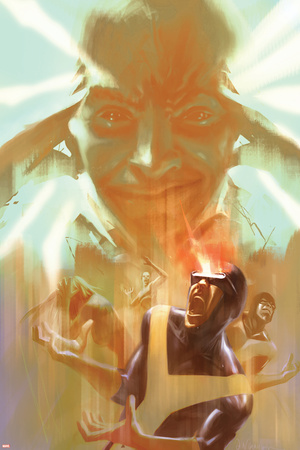 Marvel Two-In-One: X-Men: First Class No.3 Cover: Cyclops, Xavier and Charles Prints by Eric Nguyen