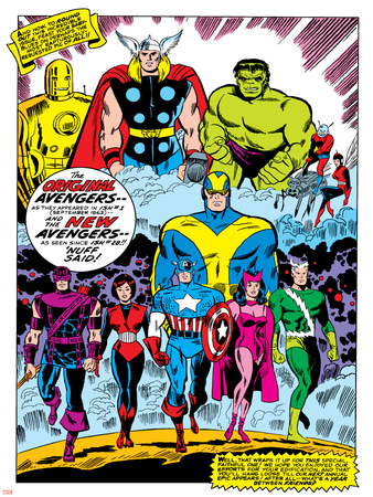 Giant-Size Avengers No.1 Group: Iron Man Print by Don Heck