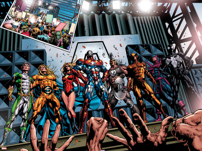 Dark Avengers No.1 Group: Marvel Boy Posters by Mike Deodato