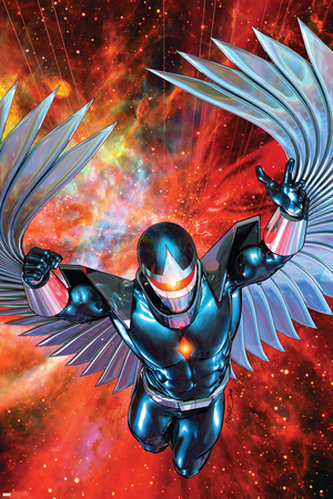 War Of Kings: Darkhawk No.1 Cover: Darkhawk Posters by Brandon Peterson