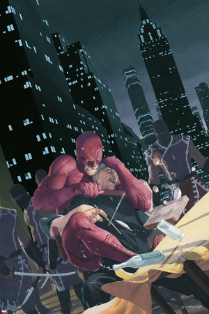 Daredevil No.501 Cover: Daredevil Print by Esad Ribic
