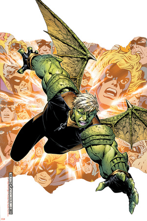 Young Avengers Presents No.2 Cover: Hulkling Prints by Jim Cheung