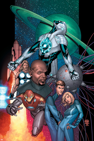 Ultimate Secret No.1 Cover: Captain Marvel Poster by Steve MCNiven