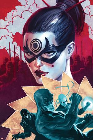 Daredevil No.112 Cover: Daredevil and Lady Bullseye Prints