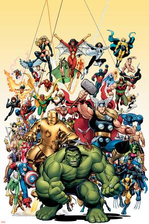 Avengers Classics č.1, obálka: Hulk Plakát