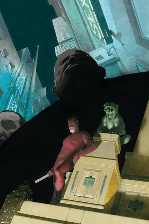 Daredevil No.503 Cover: Daredevil and Kingpin Posters by Esad Ribic