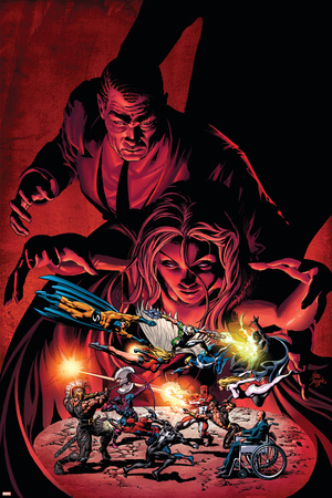 Dark Avengers No.7 Cover: Emma Frost, Osborn and Norman Posters by Mike Deodato