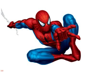Spider-Man Shooting Print