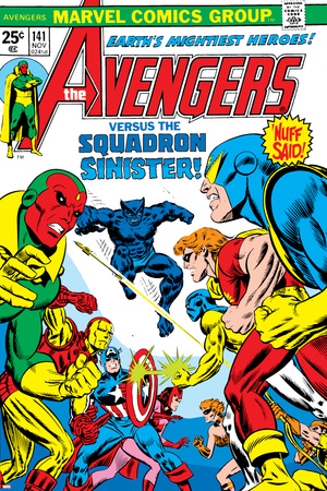 Avengers No.141 Cover: Beast Posters by George Perez