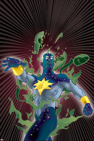Captain Marvel No.19 Cover: Captain Marvel Prints by Tony Harris