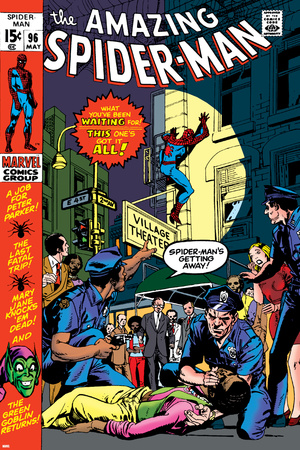 The Amazing Spider-Man No.96 Cover: Spider-Man Posters by Gil Kane