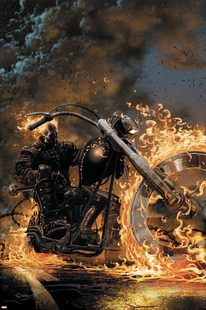 Ghost Rider No.1 Cover: Ghost Rider Prints