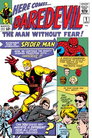 Daredevil No.1 Cover: Daredevil Posters by Joe Quesada