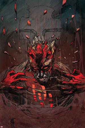 Daredevil V2, No.56 Cover: Daredevil Print by Tom Fleming